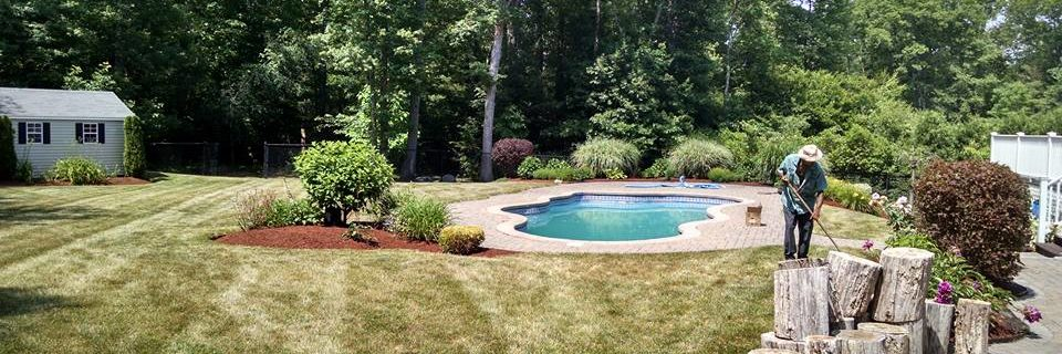 FULL SERVICE LAWN CARE, MULCHING, HYDROSEEDING, PLANTING & CLEANUPS